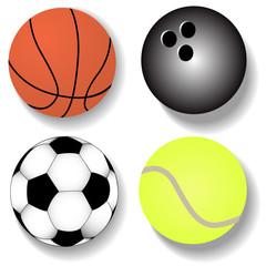 kit atheletic ball basketball football tennis