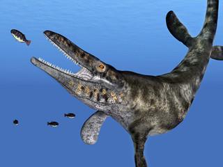 Tylosaurus auf der Jagd