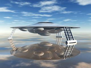 Ausserirdisches Raumschiff