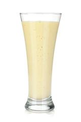 Fotobehang Milkshake Banana milk smoothie