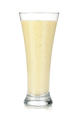 Tuinposter Milkshake Banana milk smoothie