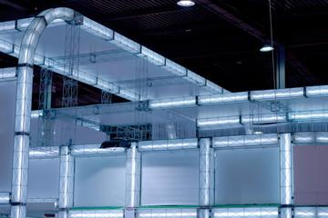 hi-tech luminous construction