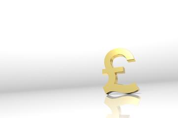 Pound Symbol on white