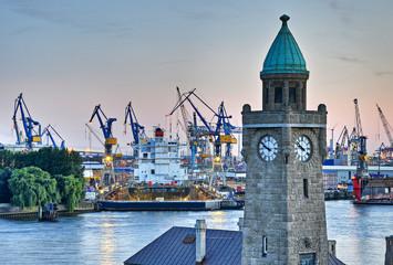 Werft in Hamburg