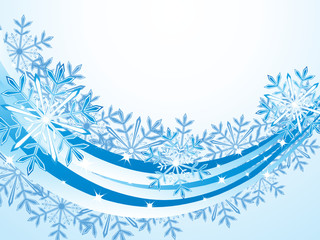 Christmas wave pattern background