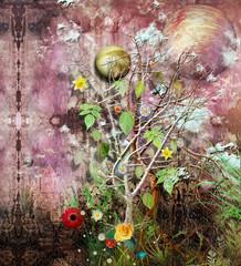 Acrylic Prints Imagination The land of plenty