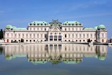 Aluminium Prints Vienna Baroque castle Belvedere, Vienna, Austria