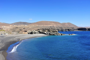 Caleta Negra in Fuerteventura, Spain