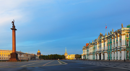 Palace Square in Saint Petersburg