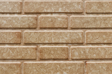 Background of brick wall exterior