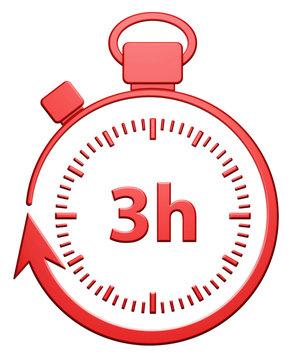 3H Chrono (rouge)