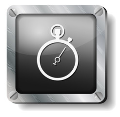steel stopwatch icon