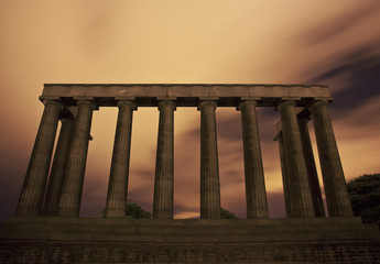 The National Monument, Carlton Hill, Edinburgh