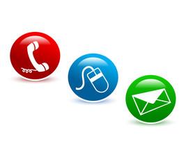 Kontakt Business Buttons