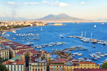 Wall Murals Napels Veduta del Golfo di Napoli