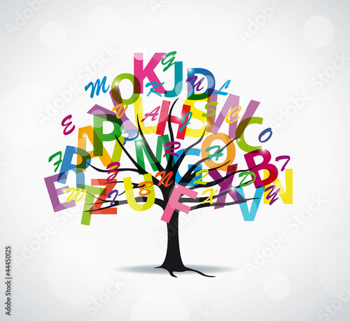 Arbre lettres fichier vectoriel libre de droits sur la banque d 39 images image - Arbre africain en 7 lettres ...