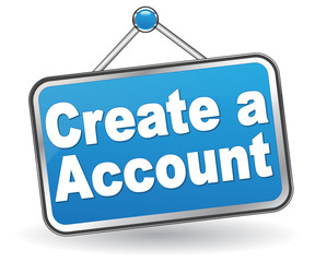 CREATE ACCOUNT ICON
