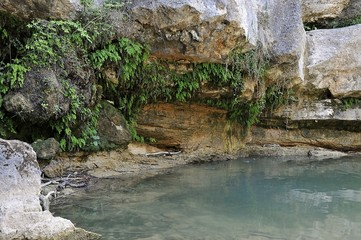 pozos del rio ter en campdevanól