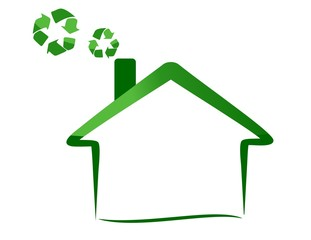 eco house - recycling