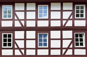 Wall Mural - Old windows