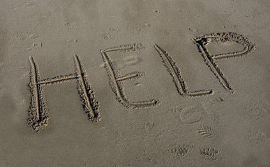 help in the sand