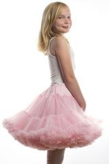Beautiful little ballerina