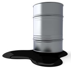 Auslaufendes Erdöl
