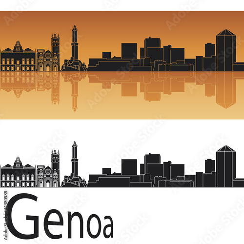 """""""Genoa Skyline"""" Imágenes De Archivo Y Vectores Libres De"""