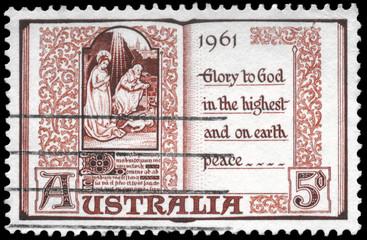 AUSTRALIA - CIRCA 1961 Page from Book