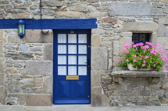 Palier de maison bretonne