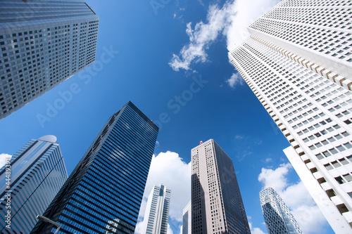Fototapete 新宿の高層ビル街