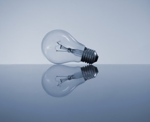 Reflection of a bulb