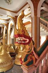 タイの寺院装飾