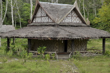 The house in Thailand