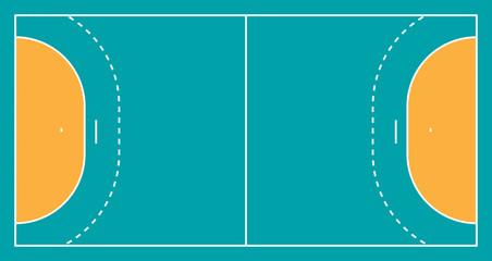 Handballspielfeld