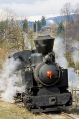 steam locomotive n. 5, Cierny Balog, Slovakia