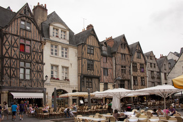 place plumereau in tours Wall mural