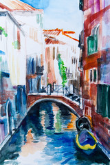 Venedig - Aquarell III