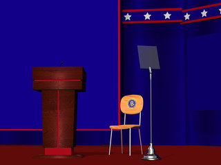 President's Empty Chair