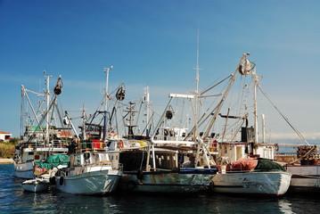 Fischerei Flotte Hafen Boot