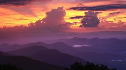 Blue Ridge Mountains View