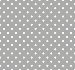Gray Polka Dot Background