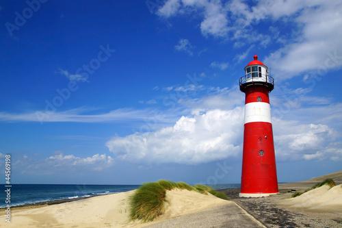 Wall mural Lighthouse. Westkapelle, Netherlands