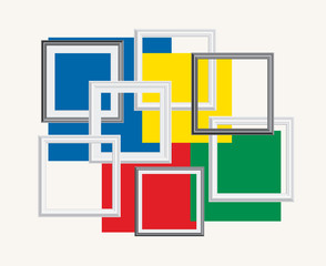 frames on colors