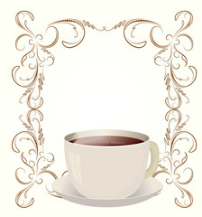 Coffee or Tea cup graphic