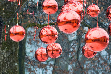 Fairy gifts at Christmas'eve in Austria