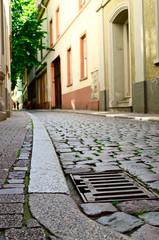 Empty German street
