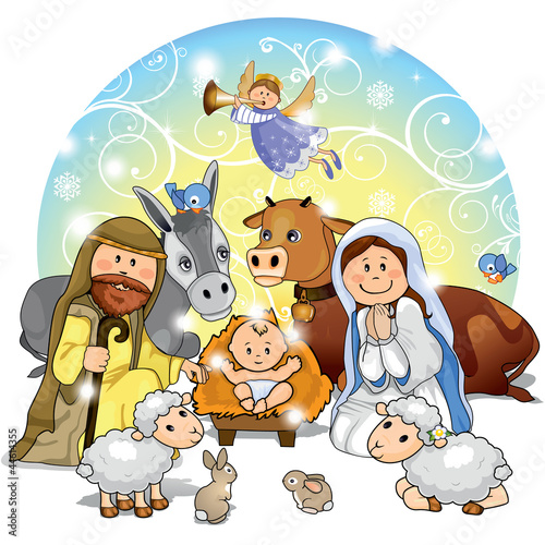 "Eccezionale Presepe di Natale"" Stock image and royalty-free vector files on  MY36"