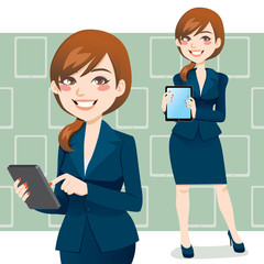 Brunette Business Woman
