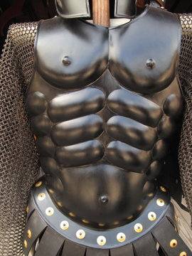 Streamlined suit of armor and chainmail